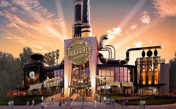 Odpira se nova restavracija: Čarlijeva tovarna čokolade!