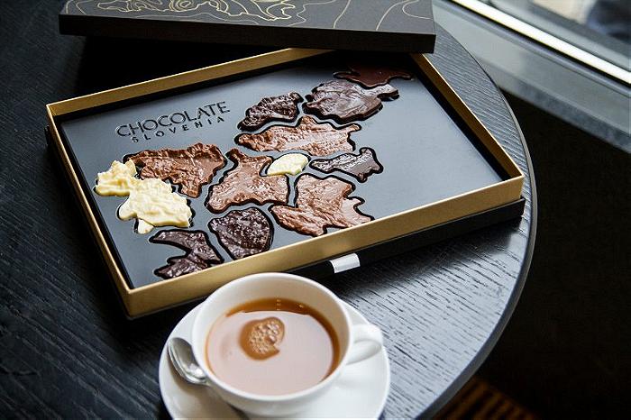 Slovenski čokoladni zemljevid - Zemljevid slovenskih čokoladnic